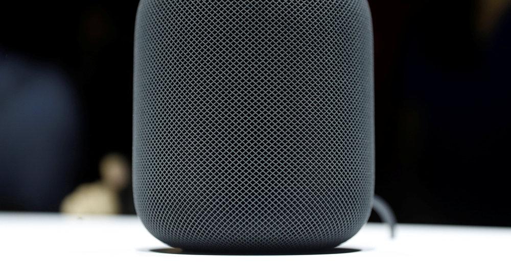 Презентация колонки HomePod от Apple
