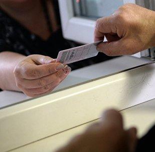Выдача водительского удостоверения в России. Архивное фото