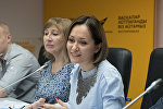 Вице-президент Ассоциации друзей Тель-Авивского университета в Казахстане Сания Арапова