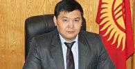 Архивное фото директора Государственного агентства по привлечению инвестиций и экспорту (ГАПИЭ) при Министерстве экономики КР Алымбека Орозбекова