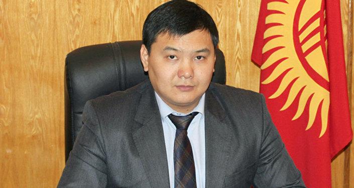 Архивное фото директора Государственного агентства по продвижению инвестиций и экспорта при Минэкономики Алымбека Орозбекова