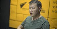 Кыргыз туризм ЖЧКсынын негиздөөчүлөрүнүн бири, эксперт Мырзабек Өзүбеков. Архив