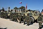 Военнослужащие Российской федерации в Алеппо. Архивное фото