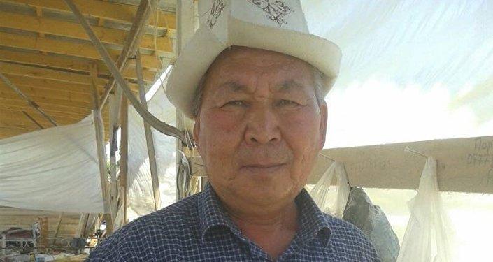 Житель села Кара-Бак Орозбай Асабидинов, спасший 12-летнего тонущего подростка