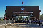 Кыргыз-казак чек арасындагы модернизацияланган Кең-Булуң өткөрүү пункту колдонууга берилген