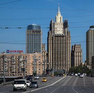 Здание Министерство иностранных дел РФ Москвы. Архивное фото