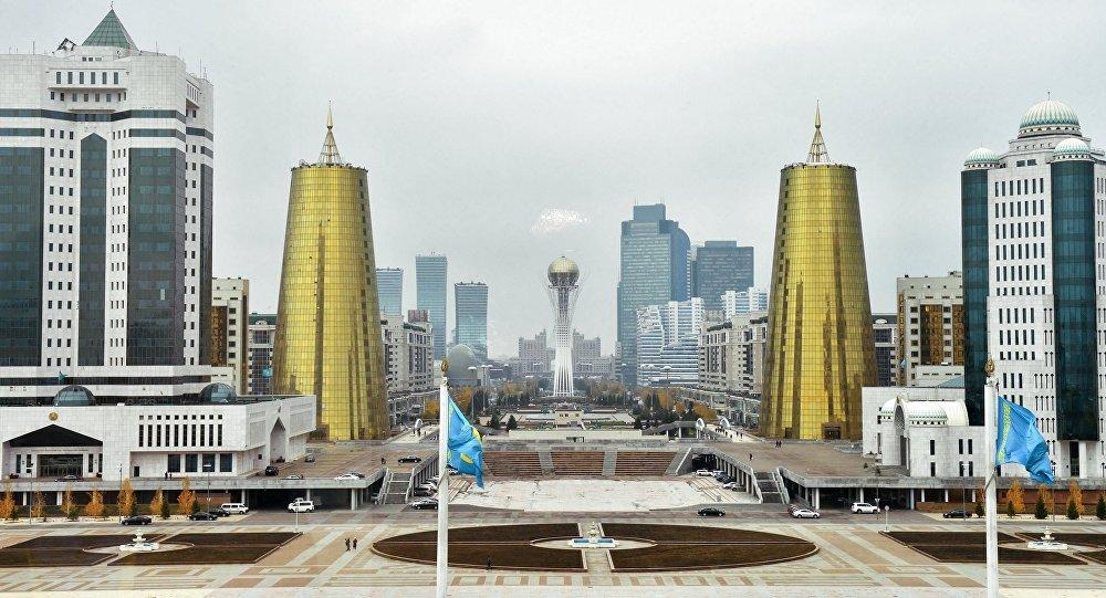 Город Астана. Архивдик сүрөт
