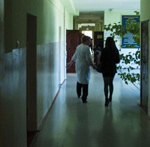 Коридор больницы. Архивное фото