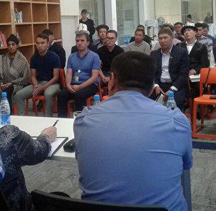 Конфликт в между студентами УЦА и местным населением в Нарыне