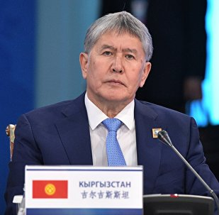 Президент Алмазбек Атамбаев Астанада өтүп жаткан ШКУ саммитинде