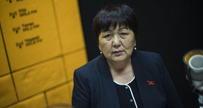 Депутат Жогорку Кенеша Карамат Орозова