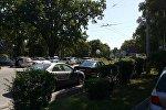 Эвакуация неправильно припаркованных автомашин