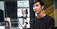 Владелец первого Аниме-кафе в Бишкеке Адилет Курманов во время интервью Sputnik Кыргызстан