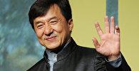 Архивное фото известного актера Джеки Чана