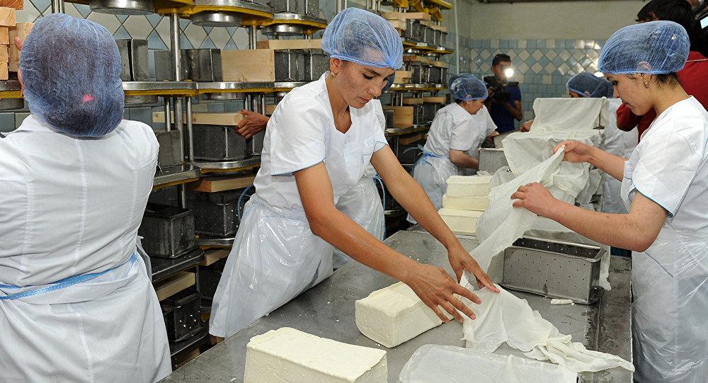 В городе Ош открылось крупное молокоперерабатывающее предприятие – завод Ош Ак-Сут