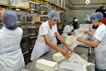 Открытие крупного молокоперерабатывающего завода Ош Ак-Сут