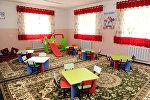 Детский сад в селе Гулчо Алайского района Ошской области, рассчитанный на 120 малышей