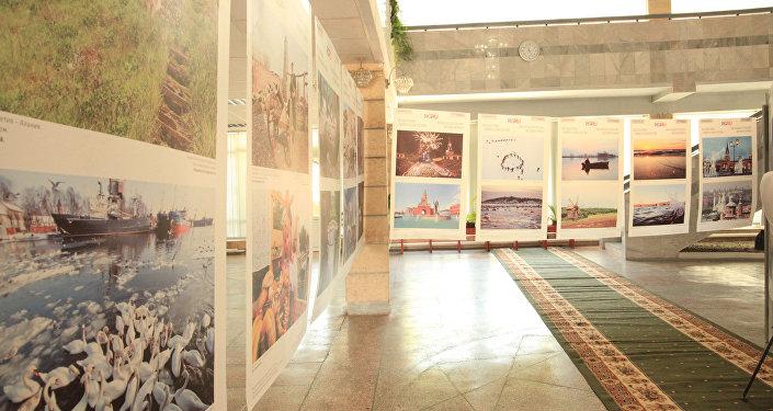 Экспозиция под названием Уникальная Россия открылась в национальном историко-архитектурном музейном комплексе Сулайман-Тоо