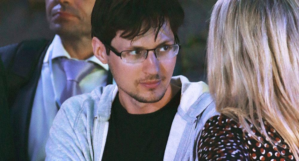 Основатель мессенджера Telegram Павел Дуров. Архивное фото