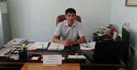 Өкмөттүн Монополияга каршы жөнгө салуу мамлекеттик агенттигинин Ысык-Көл облусундагы бөлүм башчысы Фархад Чегебаев