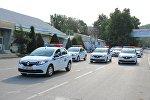 Жалал-Абад облустук кайгуул милициясына Renault Logan үлгүсүндөгү он жаңы кызматтык автоунаа берилди
