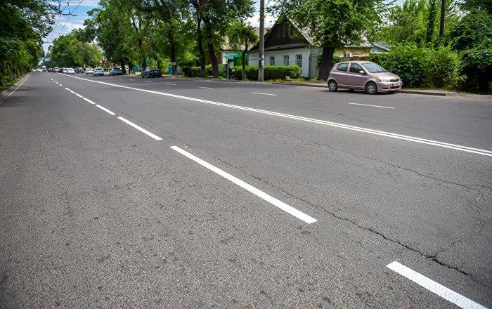 Пустая дорога. Архивное фото
