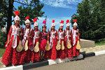 Ансамбль юных комузистов Санат, состоящий из учащихся  школы-гимназии №13 города Бишкек, завоевал Гран-при на фестивале-конкурсе Великая Россия.