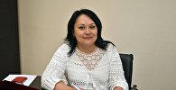 Архивное фото главного эксперта управления санитарно-гигиенического надзора комитета охраны общественного здоровья Минздрава Казахстана Гульмиры Шаймерденовой