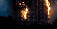 Пожар в многоквартирном жилом дом Grenfell Tower в Лондоне