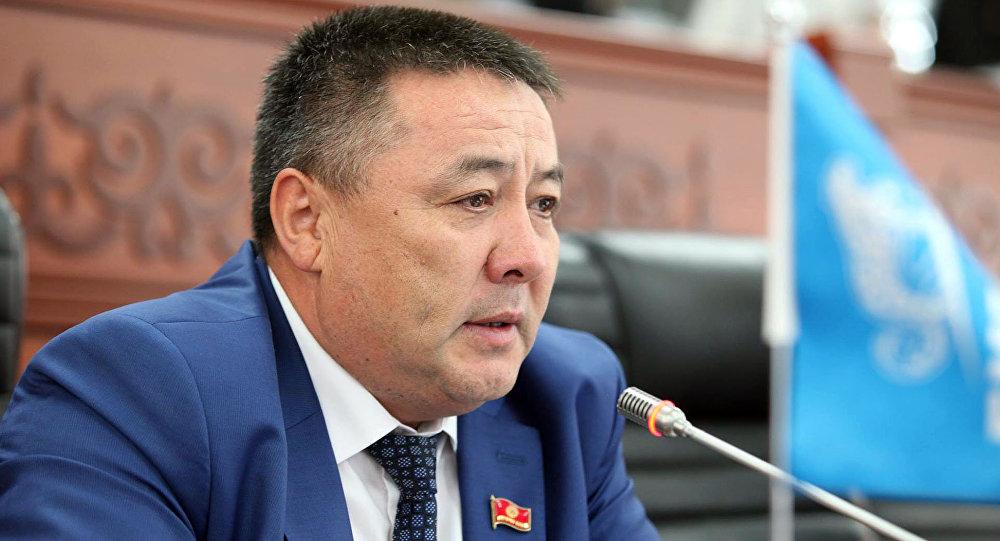 Бир Бол фракциясынын депутаты Улукбек Ормоновдун архивдик сүрөтү