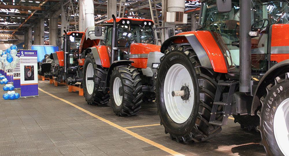 Тракторы. Архивное фото