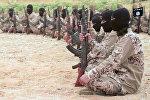 Архивное фото боевиков террористической организации Исламское государство в Сирии
