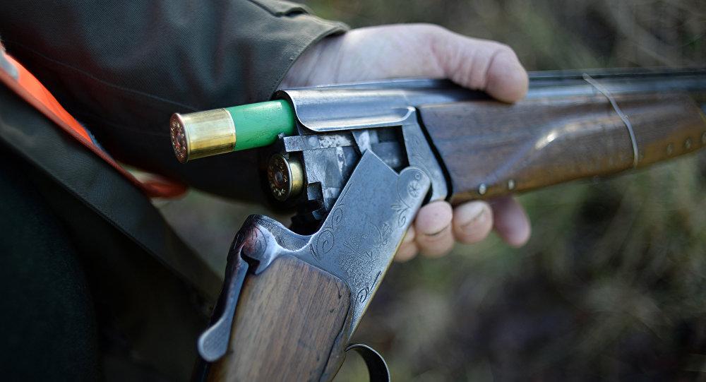 Охота в Ла-Шапель-Глайн, западная Франция