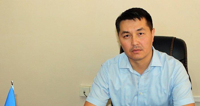Заместитель председателя правления ОАО Кыргызалтын по безопасности и работе с местным населением Нурдин Канымбетов. Архивное фото