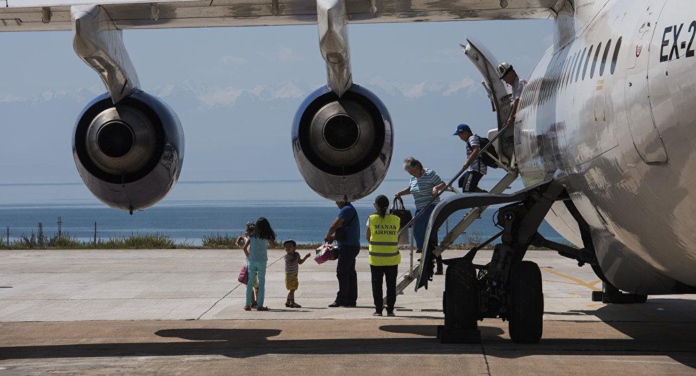 Ысык-Көл эл аралык аэропорту. Архивдик сүрөт