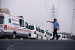 Кытайдагы полиция кызматкери. Архивдик сүрөт