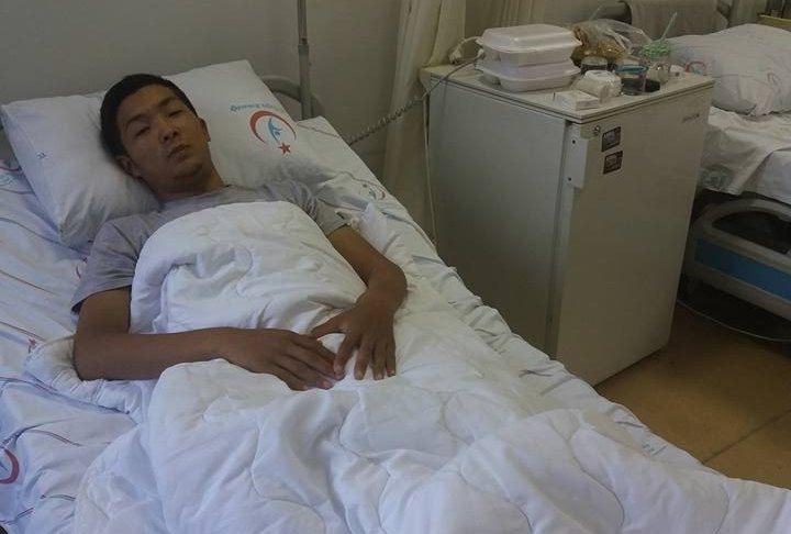 Приехавший на операцию в Стамбул кыргызстанец Арген Жумабаев