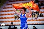Кыргызстандык спортчу Мээрим Жуманазарова. Архив