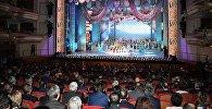 Концерт в Астане для участников заседания совета глав правительств государств - членов Шанхайской организации сотрудничества (ШОС)