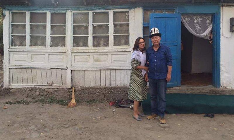 Депутат ЖК Айсулуу Мамашева с отцом