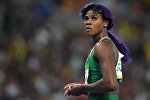 Легкоатлетка из Нигерии Блессинг Окагбаре на Олимпийских играх в в Рио-де-Жанейро. Архивное фото