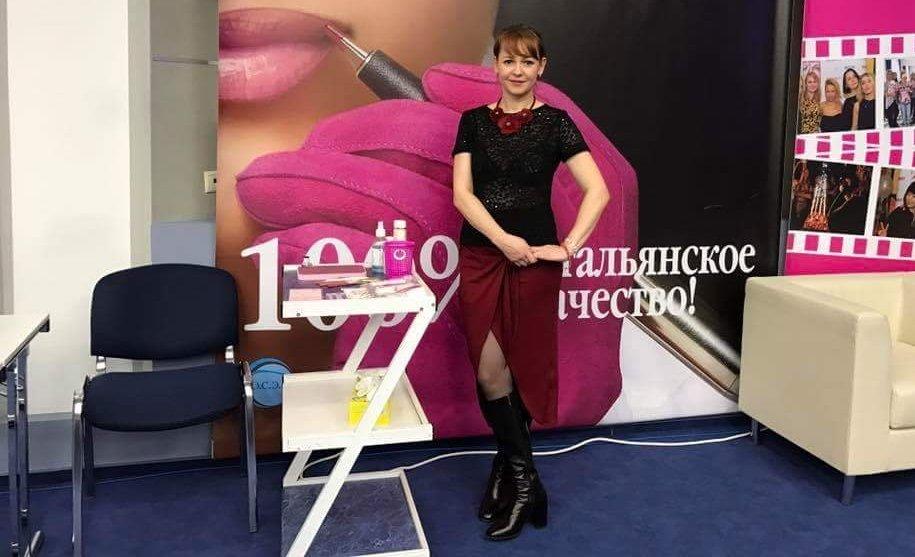 Основатель первого международного учебного центра мастеров перманентного макияжа в Кыргызстане Татьяна Севастьянова