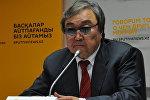Поэт, писатель и общественный деятель Казахстана Олжас Сулейменов