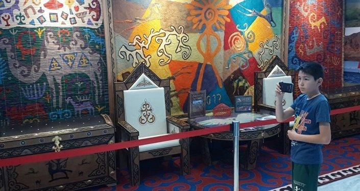 Павильон Кыргызстана на международной выставке Астана ЭКСПО–2017 (Казахстан) открылся 10 дней назад и продолжает удивлять гостей