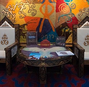 Павильон Кыргызстана на международной выставке Астана ЭКСПО–2017