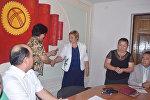 Бүгүн Жалал-Абад шаардык кеңешинин депутаттарына мандат берилди