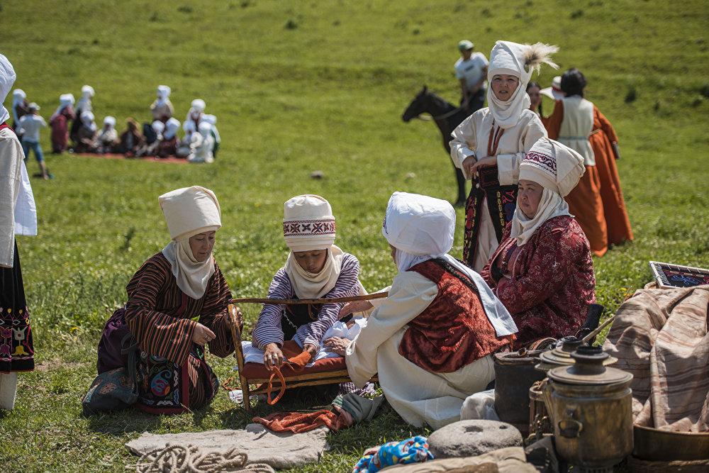 Фестиваль кочевников в ущелье Чункурчак