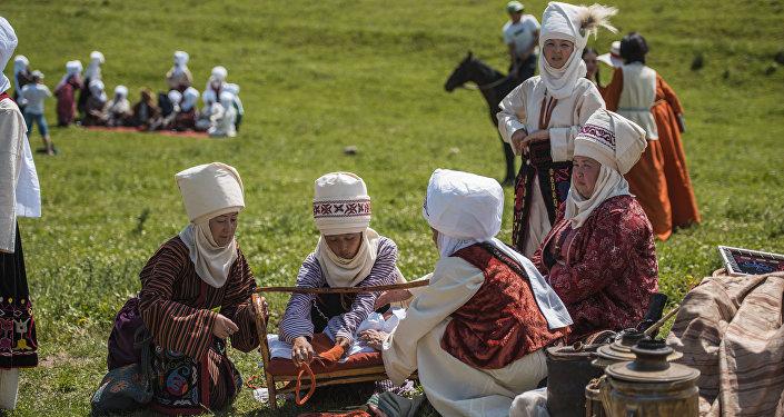 Фестиваль кочевников в ущелье Чункурчак. Архивное фото