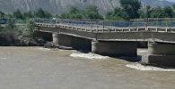 В Ак-Талинском районе Нарынской области прогнулся мост длиной 140 метров