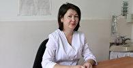 Эне жана баланы коргоо улуттук борборунун акушер-гинекологу Жанара Сыдыкова маек учурунда